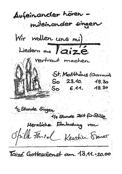Taize Heroldsberg