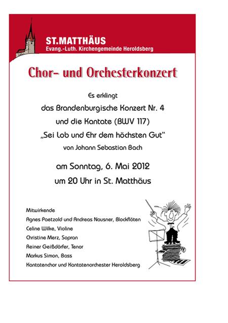 Konzert Heroldsberg