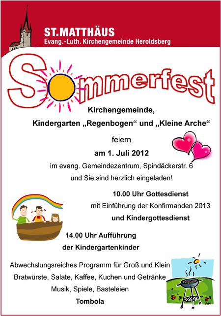 Sommerfest Heroldsberg