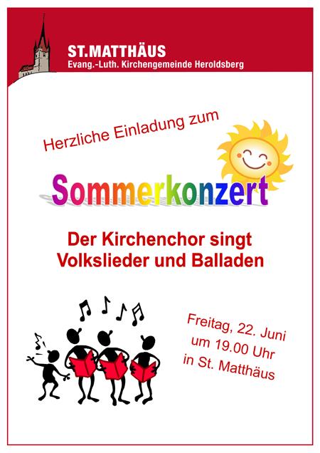 Sommeronzert Heroldsberg