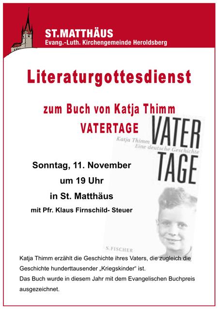 Literaturgottesdienst Heroldsberg
