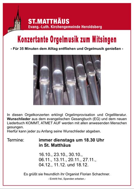 Orgelmusik Heroldsberg