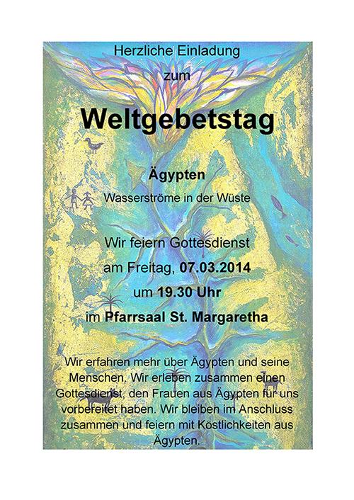 Weltgebetstag 2014 Heroldsberg