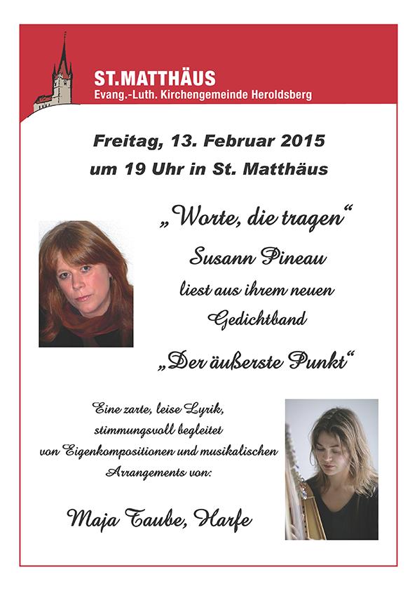 Lyrik und Harfe St Matthäus Heroldsberg