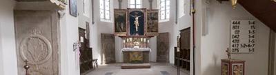Blick in die Kirche St. Matthaeus